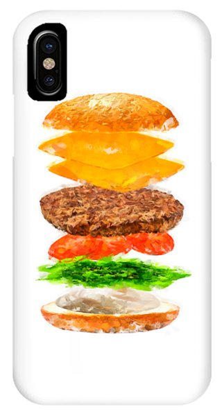 Brazilian Salad Cheeseburger IPhone Case
