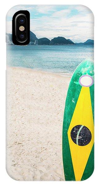 Brazilian Standup Paddle IPhone Case