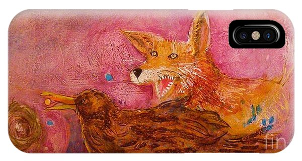 Bre Fox And Bre Crow IPhone Case