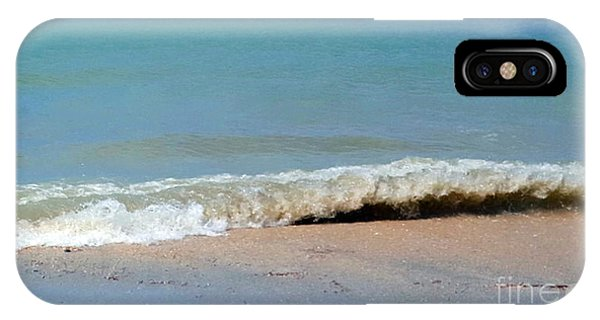 Break In The Sand IPhone Case
