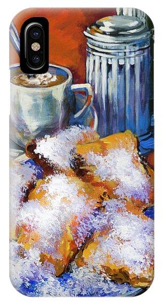 Breakfast At Cafe Du Monde IPhone Case