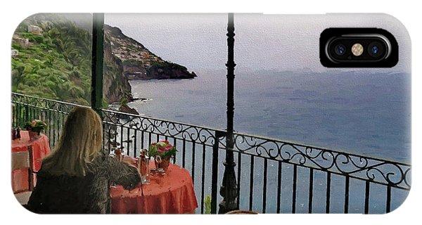 Breakfast At Il San Pietro Di Positano Italy IPhone Case