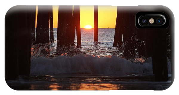 Breaking Dawn At The Pier IPhone Case