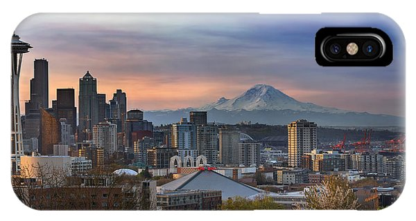 Breaking Dawn In Seattle IPhone Case