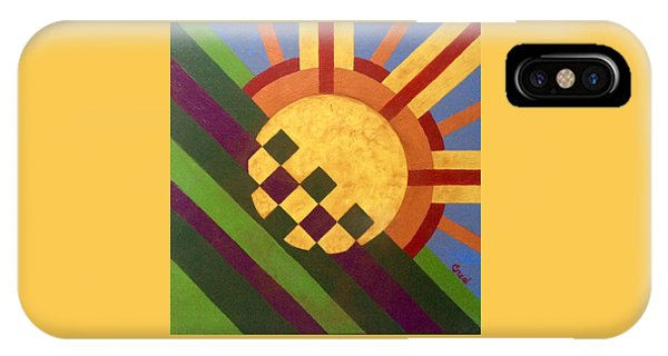 Cbs Sunday Morning Breaking Day IPhone Case