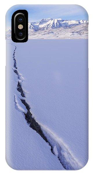 Beautiful Sunrise iPhone Case - Breaking Ice by Chad Dutson