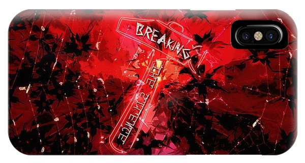 Breaking The Silence 777 IPhone Case