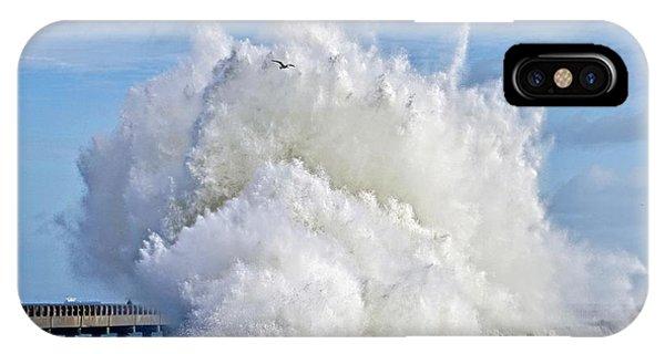 Breakwater Explosion IPhone Case