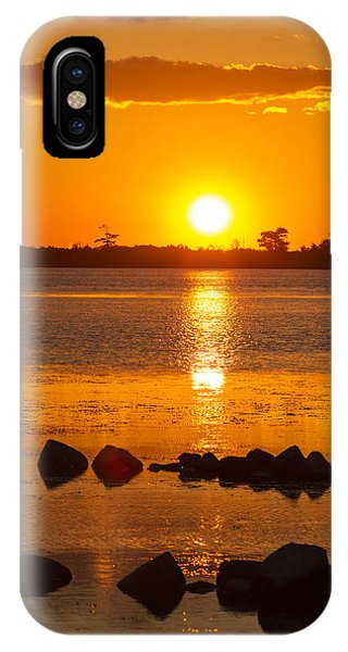 Breakwater Sunset IPhone Case
