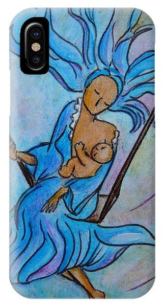 Breastfeeding Everywhere Breastfeeding On A Swing IPhone Case
