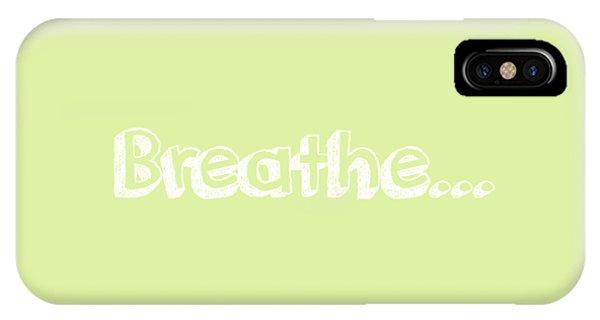 Breathe - Customizable Color IPhone Case