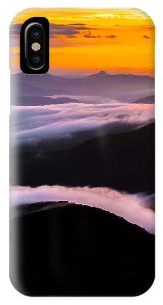 Breatthtaking Blue Ridge Sunrise IPhone Case
