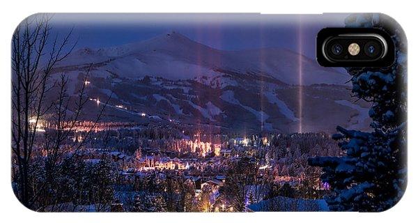 Breckenridge Phenomenon IPhone Case