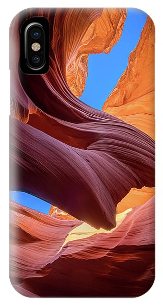 Flow iPhone Case - Breeze Of Sandstone by Edgars Erglis