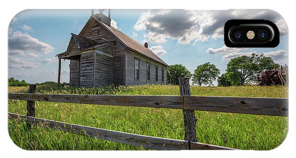 IPhone Case featuring the photograph Bremen Schoolhouse by Darren White