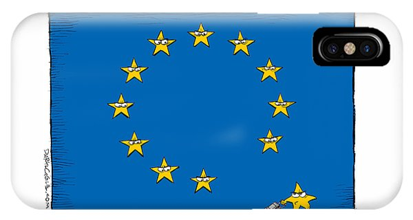 Brexit Eu Flag  IPhone Case