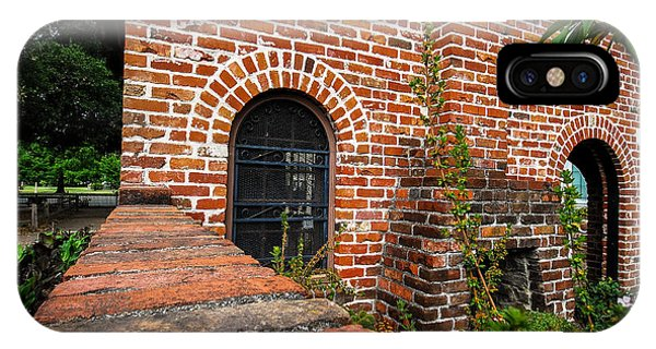 Brick Courtyard IPhone Case