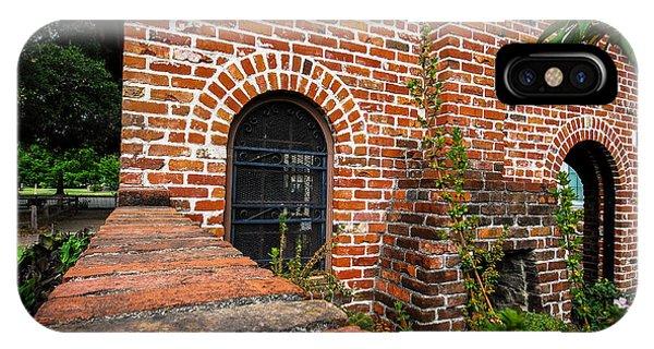 Brick Courtyard IPhone Case