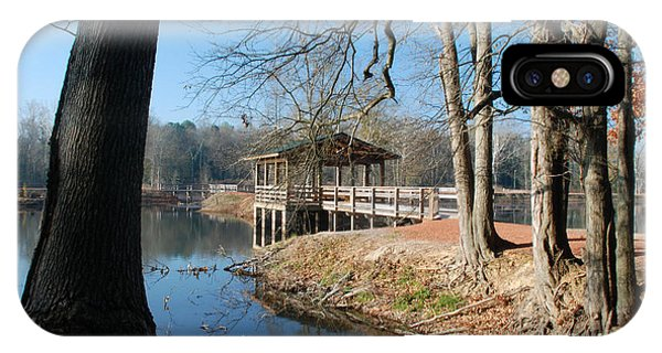 Brick Pond Park IPhone Case