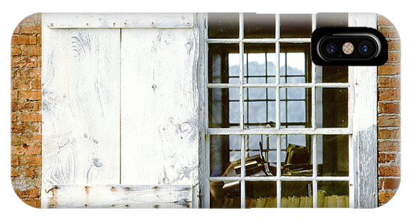 Brick Schoolhouse Window Photo IPhone Case
