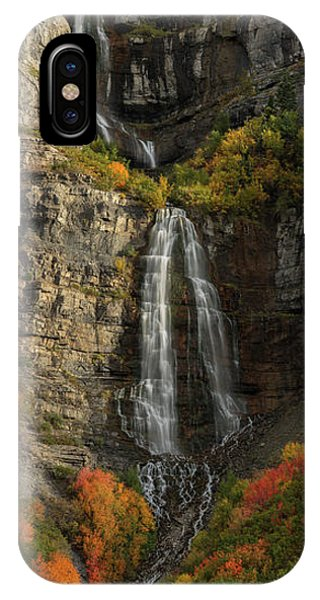IPhone Case featuring the photograph Bridal Veil Falls by Dustin LeFevre
