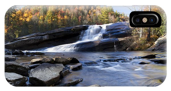 Bridal iPhone Case - Bridal Veil Falls In Dupont State Park Nc by Dustin K Ryan