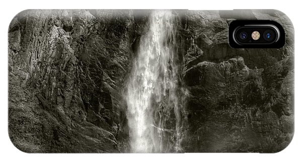 IPhone Case featuring the photograph Bridal Veil Falls by Michael Kirk