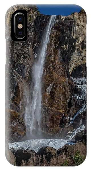 Bridal Veil Falls On Ice IPhone Case