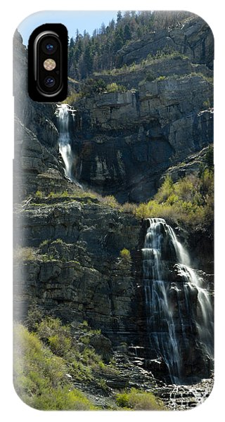 Bridal Veil Falls IPhone Case