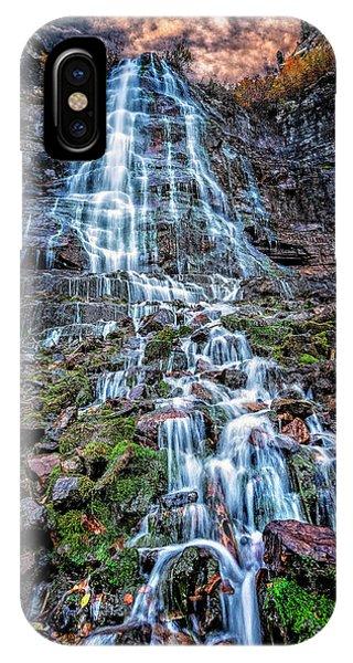 Bridal Veil Falls Utah IPhone Case