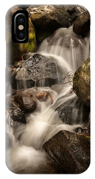 Bridal iPhone Case - Bridal Veil Water by Ralph Vazquez