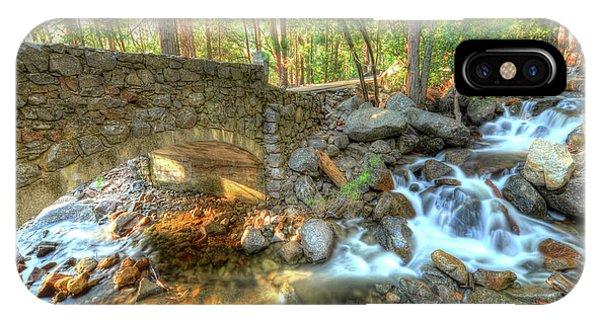 Bridalveil Creek At Yosemite By Michael Tidwell IPhone Case