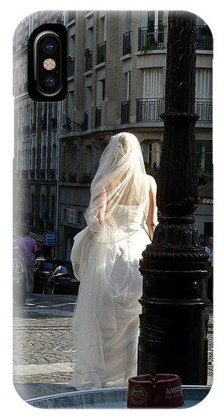 Bride Of Paris IPhone Case