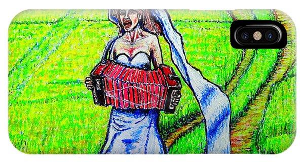 Bride/sketch/ IPhone Case
