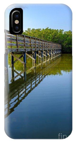 Tidal iPhone Case - Bridge Across The Bayou by Edward Fielding