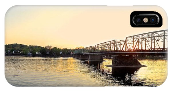 Bridge And New Hope At Sunset IPhone Case