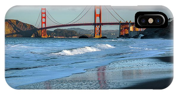 Bridge And Waves IPhone Case