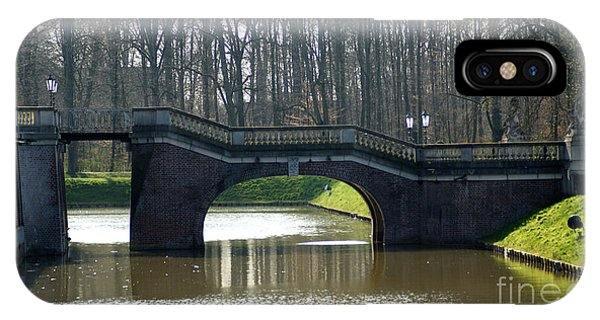Bridge At Castle Nordkirchen IPhone Case