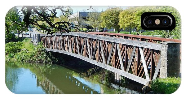 Bridge At Cox Creek IPhone Case