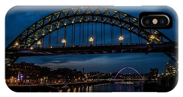 Bridge At Dusk IPhone Case