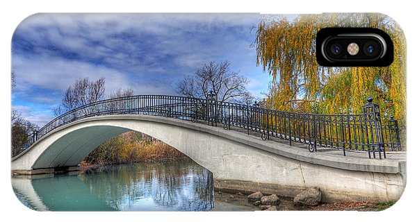 Bridge At Elizabeth Park IPhone Case