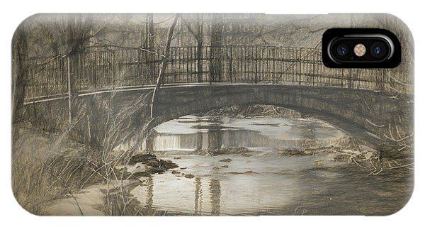 Bridge At The Fens IPhone Case