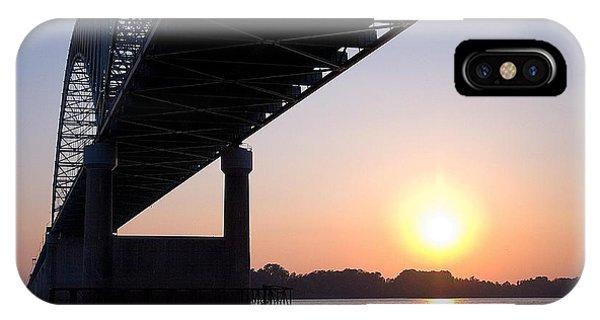 Bridge Over Mississippi River IPhone Case