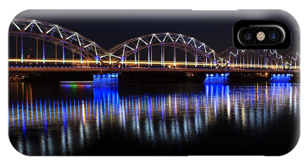 Bridge In Riga  IPhone Case