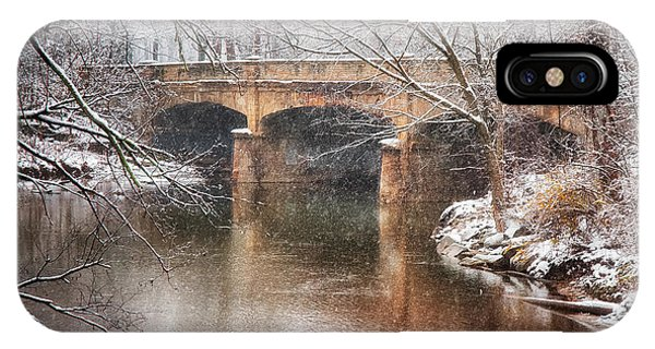 Bridge In Winter  IPhone Case