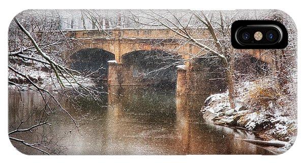 Bridge In Winter  IPhone Case