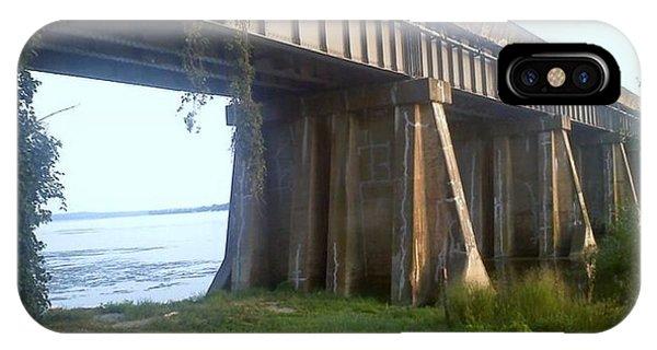 Bridge In Leesylvania Park Va IPhone Case