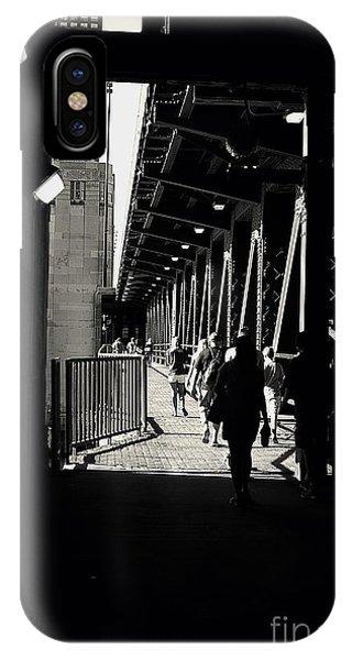 Bridge - Lower Lake Shore Drive At Navy Pier Chicago. IPhone Case
