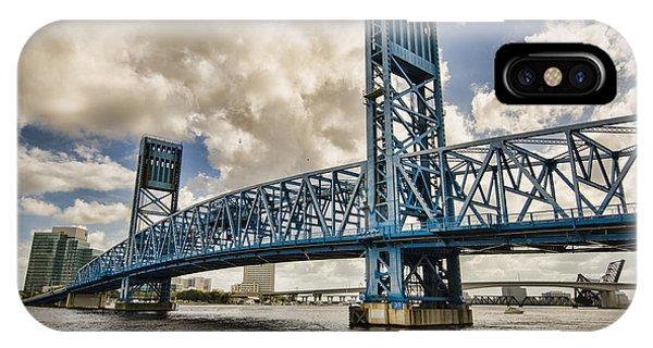 Bridge Of Blues IPhone Case