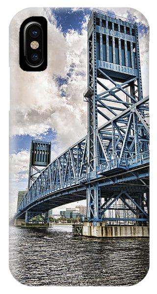 Bridge Of Blues II IPhone Case